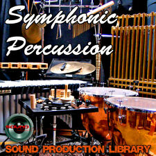 Symphonic Percussion - HUGE Unique Original Multi-Layer Samples Library on 5 DVD