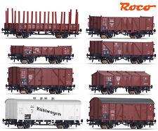 Roco 44003 H0 8-teiliges Güterwagen-Set der DRG ++ NEU & OVP ++