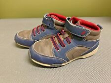 Green & Blue Boys Tall Sneakers Surprize by Stride Rite Size 12