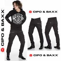 CIPO & BAXX Herren Jeans CD424 Hose Straight Cut Regular Gerade Denim Stretch