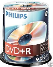 Philips DVD+R 4.7 GB, 16x Speed, Spindel 100 Stück