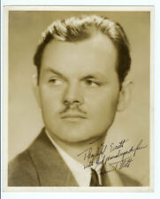 SIGNED!!! RARE VINTAGE HOLLYWOOD ACTOR STAR: Autographed Lawrence Tibbett Photo