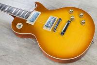 Vintage V100HBP Limited Edition HH Electric Guitar Flamed Maple Top Honey Burst