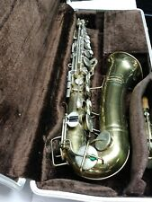 BUESCHER ARISTOCRAT ALTO SAX-MADE BETWEEN 1965 & 1970 - PARTS ONLY!