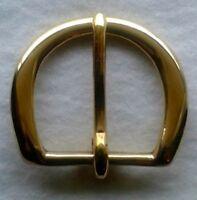 "1-3/4""  Solid Brass belt buckle"