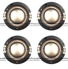 4pcs Replacement Diaphragm For JBL2420h2425 2426 Alumnium Flat wire 8Ohm Driver