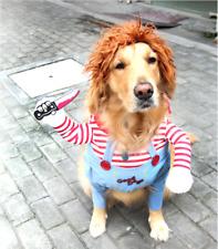 Halloween fun Dog Costumes Funny Pet Clothes Adjustable Dog Cosplay Costume Set