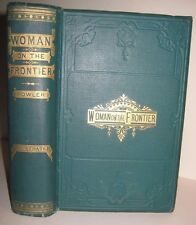 PIONEER WOMAN FRONTIER OLD WEST INDIAN MASSACRE REVOLUTION WAR ARMY SOLD $295