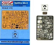 Marabu Models 1/72 SUPERMARINE SPITFIRE Mk.II Photo Etch Detail Set