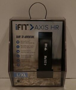 Ifit Axis HR Heart Rate Monitor Tracker, Size L/XL Large X-LG NIB Sealed