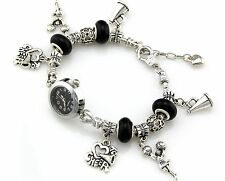 1pcs Fashion Charm Watch Bracelet With European Bead 20cm WP020