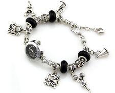 Fashion Charm Watch Style Bracelet Fit European Bead 20cm WP020