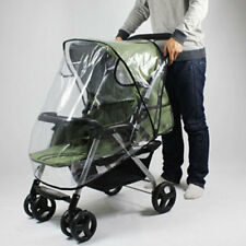 Universal Baby Pushchair Buggy Stroller Pram Transparent Rain Cover Raincoat