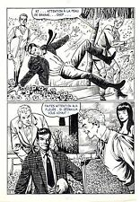 FLASH ESPIONNAGE PLANCHE ORIGINALE AREDIT PAGE 17
