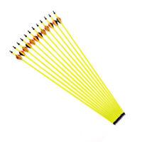 12pc 31'' carbon shaft arrows bolts spine 500 for compound/recurve bow archery