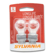 Sylvania Long Life - 2 Pack - 3457LL Light Bulb Turn Signal Parking Brake jm