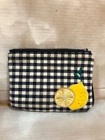Old Navy Lemon Wrist Wallet