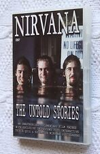 NIRVANA THE UNTOLD STORIES (DVD) R-ALL, LIKE NEW(DISC: NEW), FREE SHIPPING