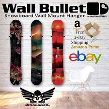 Wall Bullet Snowboard Wall Mount Hanger Display Storage Rack Burton GNU Capita