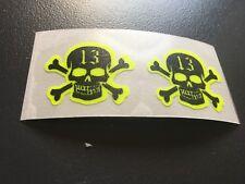 Sticker 13 Skull Skull Decoration Phone Case Fluo Fluorescent