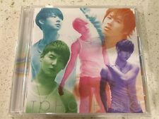 Japan Single Tohoshinki DBSK TVXQ JYJ Toki Wo Tomete CD With Card