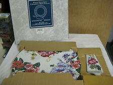 NEW in BOX Royal Gallery Floral With Gold Porcelain Cakeplate With Server #54401