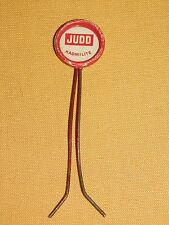VINTAGE OLD HARDWARE STORE COUNTER DISPLAY AD  JUDD KADMILITE SCREW HOLDER