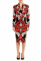 Dsquared2 Multi-Color Long Sleeve Stretch Bodycon Women's Dress US XS IT 38