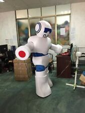 Adult Robot Mascot Costume Promotion Suit Fancy Dress Outfits Party Advertising