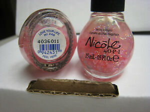 2 yes 2 Nicole by OPI Nail Polish #NI  248  LOVE YOUR LIFE