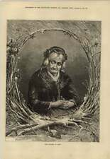 1879 An Elderly Lady In The Winter Season Of Her Life