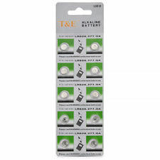 10 PCS 1.55V SR626SW 377 V377 177 L626 AG4 SR66 Button Coin Cell Battery 424