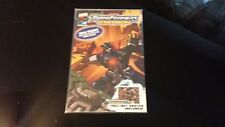 2003 Dw Transformers Energon #1 Wal Mart Exclusive Comic w/Pull Out Poster Mint!