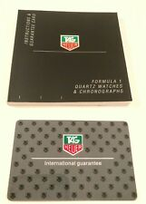 Tag Heuer Operational Manual For Formula 1 Quartz Watches and Chronographs