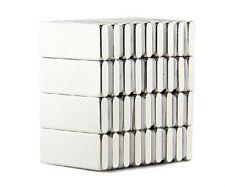 100pcs Neodymium 10 x 5 x 2 mm Strong Square Cuboid Block Magnets Rare Earth N50