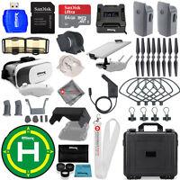 DJI Mavic Pro EXTREME PRO Accessory 2 Battery Bundle W/ Waterproof Case - New
