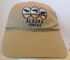 Juneau Hat Cap Alaska USA Embroidery Unisex Moose Fish Bear New
