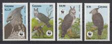 Guyana - Michel-Nr. 3077-3080 postfrisch/** (WWF - Harpyie)