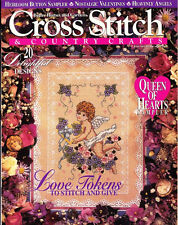 Cross Stitch & Country Crafts 1994 Jan/Feb Valentine's Day Issue Queen of Hearts
