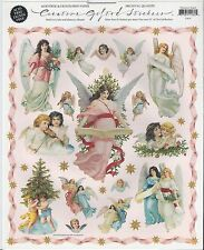 Christmas Angels Creative Gifted Stickers