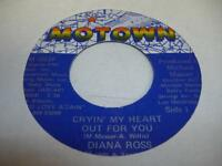 Soul Unplayed NM! 45 DIANA ROSS Cryin' My Heart Out For You on Motown