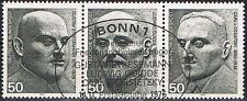 871-873 ESST Bonn, Einzelmarken  Block 11, BRD 1975