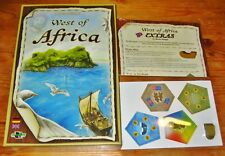 """WEST OF AFRICA Board Game + RARE PROMO EXTRA EXP """"PIRATE SHIP"""" NEW/SEALED/SHIP$0"""