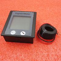 AC 80 to 260V LCD Digital 100A Volt Watt Power Meter Ammeter Voltmeter 110V 220V