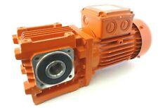 Elektrogetriebemotor BAUER BS06 Getriebemotor Gearmotor 82U/min 0,37kW 3~ IM H1
