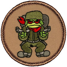 Cool Boy Scout Patches- The Battle Toad Patrol! (#034)