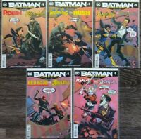 Batman Prelude to the Wedding (2018) #1-5 Complete Lot 1st Prints Dc Seeley