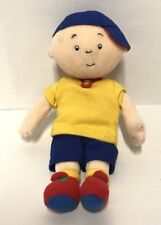 "CAILLOU 8"" Plush Boy Doll STUFFED ANIMAL Toy 2001 PBS SPROUT"