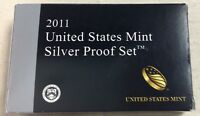 2011 US MINT SILVER PROOF SET - Complete w/ Original Box and COA