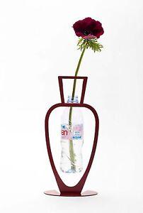 ARTORI Design Primavera Water Bottle Vase Recycling Eco Friendly White Black Red
